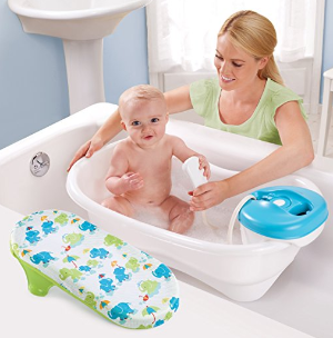 $26.88Summer Infant Newborn to Toddler Bath Center and Shower, Blue
