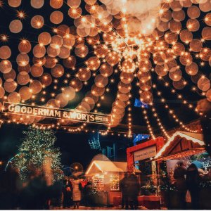 感受古老欢乐的圣诞气息吧多伦多官方圣诞集市如期而至 古酿酒厂区