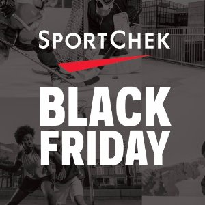 低至4折起黒五价:sportchek 男女运动服饰、鞋履、健身器材等特卖会