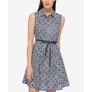 Tommy Hilfiger Cotton Printed Shirtdress, Only at Macy's - Dresses - Women - Macy's