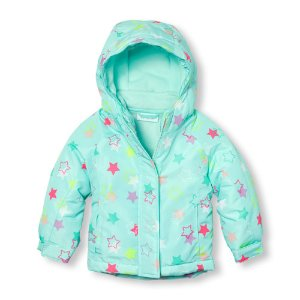 Toddler Girls Long Sleeve Printed 3-In-1 Jacket | The Children's Place