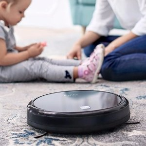 Eufy RoboVac 11 Self-Charging Robotic Vacuum Cleaner with Drop-Sensing Technology and HEPA Style Filter for Pet Fur and Allergens