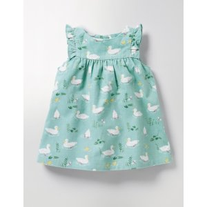 Ruffle Cord Pinafore Y0030 Dresses at Boden