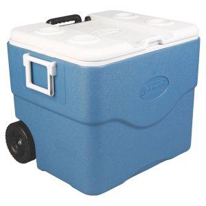 $44.1Coleman Xtreme 75夸脱冷冻箱 蓝色