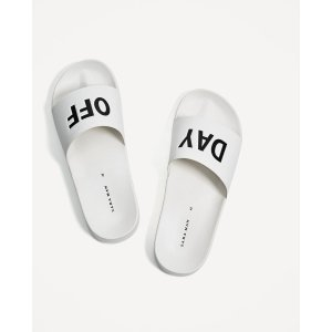 PRINTED SLIDES - View all-SHOES-MAN-SALE | ZARA United States
