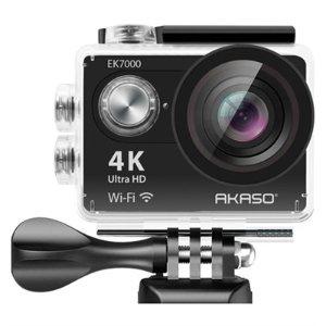 $65Akaso EK7000 Ultra HD 4k WIFI 170 Degree Wide Waterproof Sports Action Camera