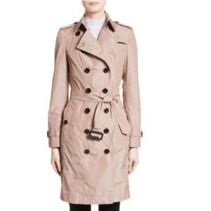 Burberry Sandringham Long Slim Trench Coat