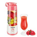 KUWAN Electric Fruit Juicer Mini Rechargeable portable Blender