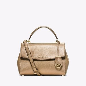 Ava Small Saffiano Leather Satchel | Michael Kors