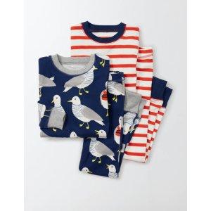 Cosy Twin Pack Long Johns 24151 Nightwear & Underwear at Boden