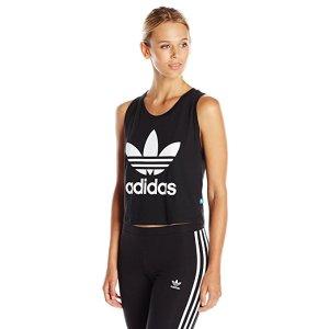 adidas Originals Women's Loose Crop Tank at Amazon Women's Clothing store: