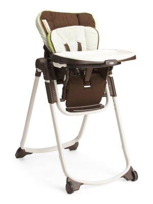 再降 超级好价手慢无:葛莱高Slim Spaces 可折叠婴儿高脚餐椅