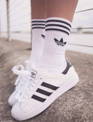 $8+免邮!小袜子 大时尚!adidas三叶草时尚女袜2色热卖