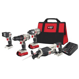 PORTER-CABLE 3-Tool 20-volt Max Lithium Ion Cordless Combo Kit