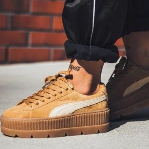 Save 25% off + Free shippingFENTY PUMA BY RIHANNA  CLEATED CREEPER SUEDE @ ELEVTD