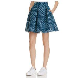 Maje Jungla Lace Skirt
