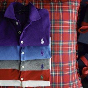 低至7折 满$125再享额外7折Ralph Lauren 男装经典POLO衫 秋冬款毛衣折上折大促