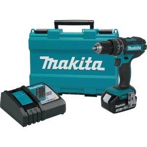 $119黒五价:Makita 18-Volt LXT 无绳驱动工具套装