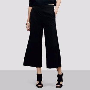 Wide Leg Culotte Pant | Kenneth Cole