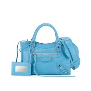 Balenciaga Classic Nickel City Mini AJ Bag