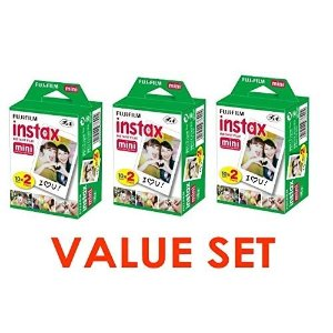 Fujifilm Instax Mini Instant Film (3 Twin Packs, 60 Total Pictures) | Jet.com