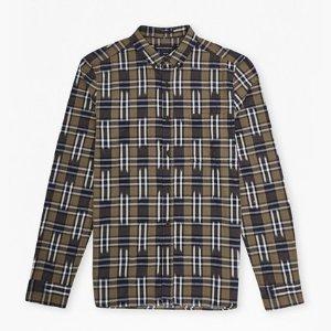 Ikat Check Slim Fit Shirt