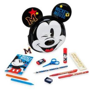 Mickey Mouse Zip-Up Stationery Kit