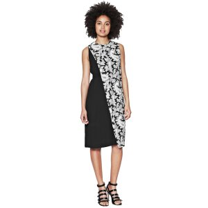 French Connection Paisley Party Crepe Dress | Bluefly.Com