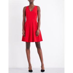CLAUDIE PIERLOT - Rire crepe mini dress