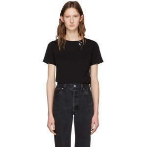 Saint Laurent: Black Constellation T-Shirt
