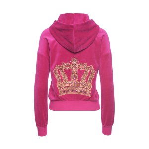 LOGO VELOUR GEO CROWN SUNSET JACKET - Juicy Couture