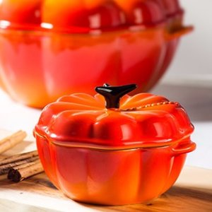 Free Petite Pumpkin CocotteWith $150 Purchase @ Le Creuset