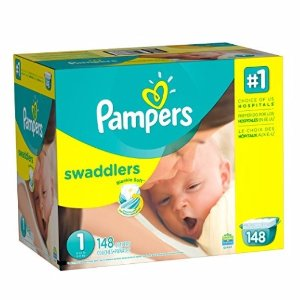 $15.84Pampers Swaddlers 帮宝适1号婴儿纸尿裤216片