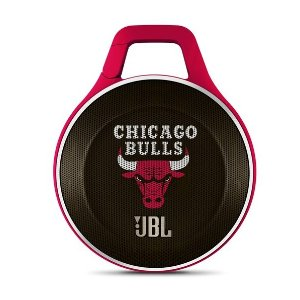 JBL Clip NBA Edition - Bulls | Chicago Bulls Ultra-portable Bluetooth Speaker with Carabiner