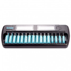 $24.99Knox Gear 16-Bay Rapid Ni-MH AA/AAA Battery Charger with 16 Batteries