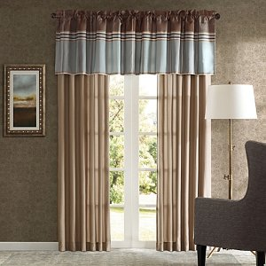 Bedford Window Curtain Panel Pair - Bed Bath & Beyond