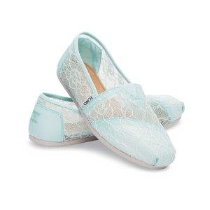 Mint Lace Women's Classics | TOMS®