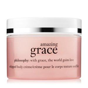 amazing grace | whipped body creme | philosophy amazing grace