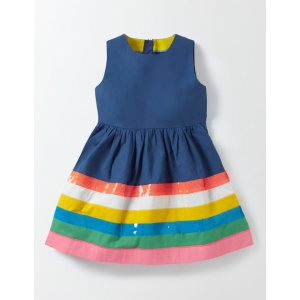 Rainbow Striped Dress 33524 Dresses at Boden
