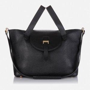 meli melo Thela Medium Tote Bag - Black - Free UK Delivery over £50