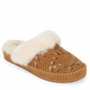 Aira Tehuano Slippers with Fur