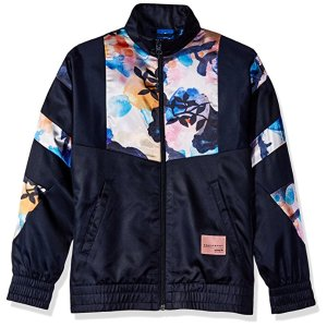 Amazon.com: adidas Originals Girls' Eqt Satin Supergirl Track Top: Clothing
