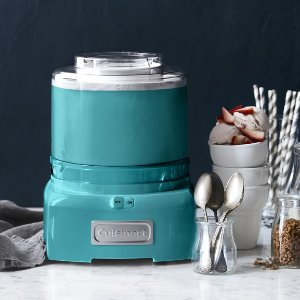 Cuisinart Ice Cream Maker with Extra Freezer Bowl, 3 Colors