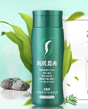 超便宜 $12.18日本利尻昆布植物染发膏200g