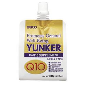 Sato Yunker Q10 JELLY Drink 150g