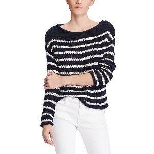 Striped Rollneck Sweater Scoop Crew & Boatnecks Sweaters