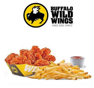 Free Unlimited Frieswith the purchase of any boneless wings