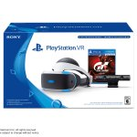 PlayStation VR Headset & Camera Bundle + Gran Turismo Sport