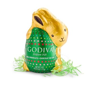 Milk Chocolate Bunny, Foil Wrapped, 4 oz.   GODIVA