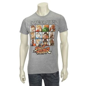Street Fighter Guys Screen Tee: Shopko